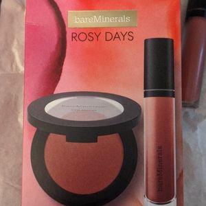 BNIB Bare Minerals Rosy Days Set